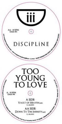 Too Young to Love • Vault of Heaven/Down to the Infinity